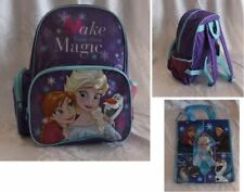 Disney FROZEN Girls BACKPACK school bag FREE* LIBRARY  Sling Bag Swimming Sport