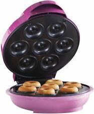 Brentwood TS-250 Mini Donut Maker Machine, Non-Stick, Pink
