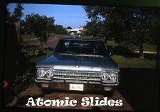 1960s Kodachrome photo slide Dodge Car automobile  Texas plate