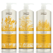 Natural Look Intensive Fortifying Shampoo, Conditioner & Treatment 1L WITH PUMP