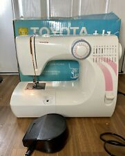 TOYOTA RS2000 Series Model STF Pedal Operated Electric Sewing Machine