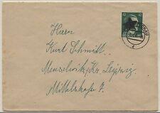 AP A 795 I als EF auf Brief von Crimmitschau nach Meuschwitz (B07179)