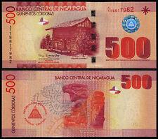 NICARAGUA 500 CORDOBAS (P206b) 2007 (2012) UNC