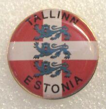 City of Tallinn, Estonia Tourist Travel Souvenir Collector Pin