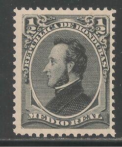 Honduras #32 (A4) VF MINT OG - 1878 1/2r President Francisco Morazan