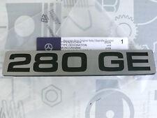 Original Mercedes W460 G-Klasse Schriftzug Typkennzeichen 280GE NEU!