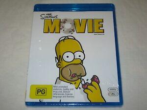 The Simpsons Movie - Brand New & Sealed - Region B - Blu Ray
