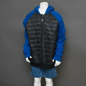 Ralph Lauren Blue and Black YOUTH Boys Jacket Size XL (18/20) Full Zip