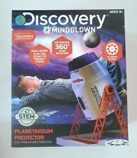 DISCOVERY MINDBLOWN Planetarium Projector - 2in1 Stars & Planet Projection- New!