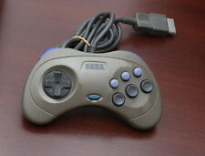 Sega Saturn SS Japan import Official Gray Controller Pad HSS-0101 US Seller