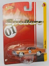 Johnny Lightning 1970 CHEVY MALIBU SS THE SPOILERS JL2 1/64 RELEASE 2 WIRE WHEEL