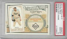 2012 Topps Allen & Ginter's What's In A Name? David Price #WIN77 PSA 10