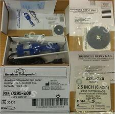 New BSN American Orthopedic Cast Cutter Saw 115V Hex Drive Dicronite Blade USA