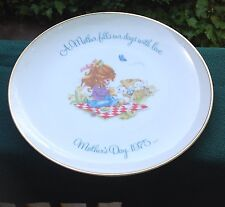 VINTAGE COLLECTOR/COMMEMORATIVE GIGI PLATE FROM MOTHER'S DAY 1975