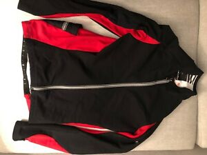 Assos  IJ.Habu Jacket Cycling Early Winter medium red Windproof Retail $329