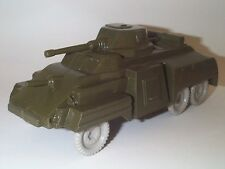 MARX 1950'S US ARMY TRAINING CENTER LARGE ARMY ARMORED CAR GRAY WHEELS HP NMINT