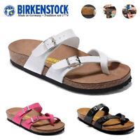 Birkenstock Mayari Unisex Birko Flor Sandals  Classic Shoes EVA Sole Block HOT