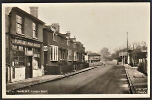 PURFLEET, ESSEX postcard London Road post office