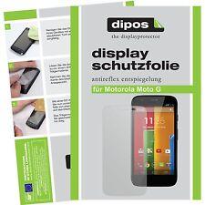 2x Motorola Moto G Schutzfolie matt Displayschutzfolie Folie dipos Displayfolie