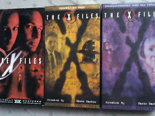 Box set of 3 Vhs tapes of The X Files 4 episodes and the movie 1995 season Nr