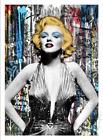 Mr. Brainwash MARILYN Monroe FOR EVER Art Screen Print Poster S&N x/95 Banksy