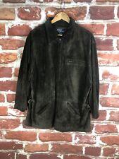 $895 Polo Ralph Lauren L Leather Rancher Racer Cruiser Label Suede Work Jacket