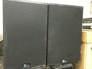 Qty 2 Meyer Sound UPA-1P Working Compact Self-Powered Wide Coverage Loudspeaker