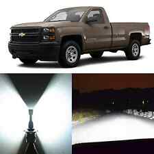 Alla Lighting Low Beam Headlight LED Bulbs for Chevy Express 99~06 Siverado 1500