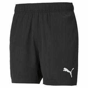 Puma Active Woven Shorts. Mens. Black