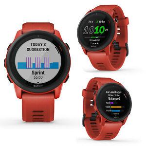 Garmin Forerunner FR 745 Red GPS Muli Sports Triathlon Smartwatch Run Cycle Swim