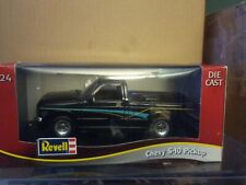 Vintage Revell 1/24 Scale Die-Cast Black Chevy S-10 Pickup Truck - 8693 - New!