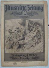 Illustrierte Zeitung Verlag J.J.Weber Leibzig  18.Juli 1918 Kriegsnummer 207