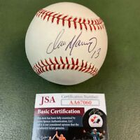 Dan Marino Autograph Baseball JSA COA #AA67060 Miami Dolphins