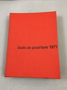 Ancien catalogue référence tapis de luxe Louis de Poortere 1971 vintage carpet