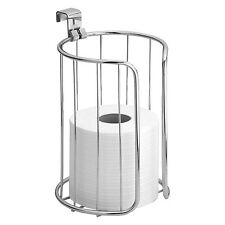 InterDesign Classico Toilet Paper Roll Holder for Bathroom Storage Over the T.