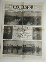 N729 La Une Du Journal Excelsior 26 juin 1920 la nouvelle guerre d'orient