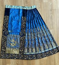 Chinese Embroidered Dragon Skirt (Half)