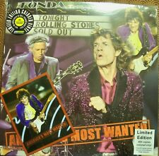 """ROLLING STONES """"AMERICA'S MOST WANTED"""" COLOUR LP STICKY FINGERS LIVE 2015 FONDA"""
