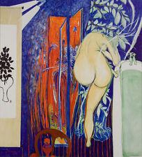 BRETT WHITELEY - The Bathroom Window - Stunning Australian Decorative Art Print
