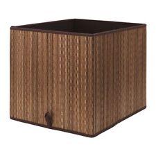 Ikea Motorp pour Kallax Panier Boîte Rangement 33x38x33 Feuille de Palmier