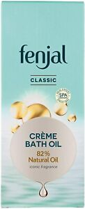 FENJAL Classic Luxury Creme Bath Oil - 200ml  Cleanses and Nourishes Your Skin