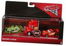 Disney Pixar Cars 3 Racing 3 Pack Die Cast Lightning Mcqueen Ages 3+ Mack Truck