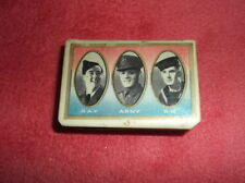 Military Collectable Match Strikers & Holders