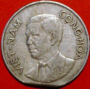 Vietnam 1960 Dong Bust of Ngo Dihn Diem KM#5