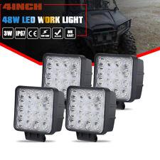4X 48W Square Off Road LED Work Light Flood 12V 24V Car boat Truck Driving UTE