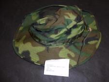"Vietnam US Army Military Army Tropical Camo Bush /Jungle Hat Size 6 7/8"" 1969"