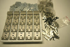 Wholesale solid heavy duty Brushed Nickel Lock. 45 pieces.