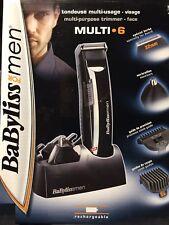 BaByliss Multifunktionstrimmer Nase Ohr Bart Haarschneider 3d Schliff