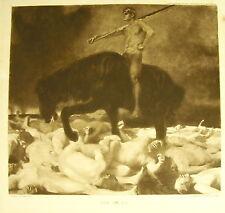 Der Krieg Franz Von Stuck la Guerre the War c 1900 Expressionnisme allemand