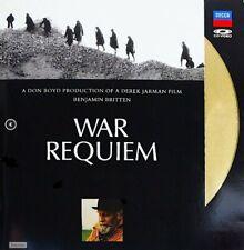 "Benjamin Britten: War Requiem (1989) [071 115-1] 12"" LaserDisc DECCA ADD PAL-UK"